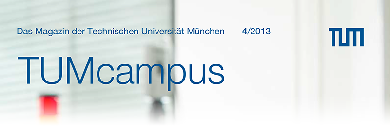 TUMcampus Issue 04/2013